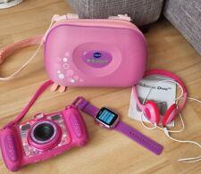 Vtech Kidizoom Duo 5 MP Camera mit Tasche und Kopfhörer + Smartwatch f.Kinder
