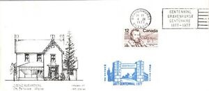 LIMITED EDITION COVER GRAVENHURST CENTENNIAL Dr. BETHUNE'S HOUSE 12c SCOTT #739