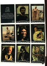2007 TOPPS STAR WARS 30TH ANNIVERSARY SET 120 CARD COMPLETE BASE CARD SET