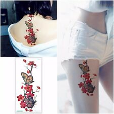 USA - 3D REMOVABLE WATERPROOF TEMPORARY TATTOO EXTRA LARGE FLOWER TATTOO STICKER