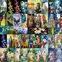 DIY 5D Diamond Painting Owls Square Drill Mosaic Craft Embroidery Cross Stitch
