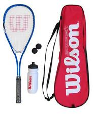Wilson Squash Racket Set with Balls, Waterbottle & Carrycase RRP £50