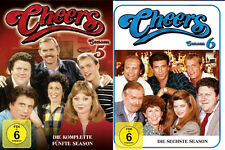 8 DVDs * CHEERS - SEASON / STAFFEL  5 + 6 IM SET ~ MB # NEU OVP =