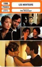 FICHE CINEMA : LES MENTEURS - Anglade,Bruni Tedeschi,Bracco,Gayet 1996 The Liars