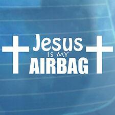 Jésus est mon airbag Drôle Autocollant Voiture Vinyle Van Pare-chocs Autocollant Fenêtre
