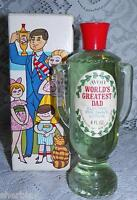 AVON WORLD'S GREATEST DAD Electric Pre Shave Lotion FULL in Original Box