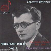 Legendäre Treasures - Composers Performing - Schostakowitsch Vol 1 - CD