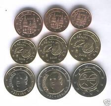 manueduc   ESPAÑA 2009   Las 9 Monedas  con 2 euros Conmemorativa , Sin Circular