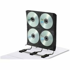 Ideal Gapless Media Binder for Dvd/Cds 34 Pages Holds 272 White Ft07016