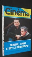 Revista Cinema Abril 1990 N º 466 Francia Italia Buen Estado