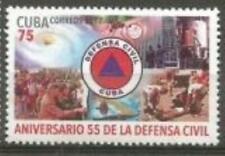 Cub2017 55th Anniversary of Civil Defense 1v MNH