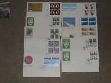Canada FDC`s 1970`s, Blocks of 4 (10) Lot# C1