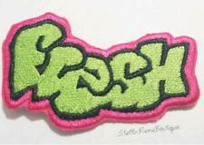 New! Fresh Graffiti Logo DIY Iron On Embroidered Applique Patch