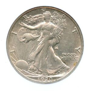 1920-S Walking Liberty Half Dollar, NGC AU 55, CAC Approved!