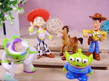 TOY STORY 5 PIECES FIGURES CAKE TOPPERS BUZZ WOODY JESS   UK SELLER