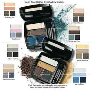 Avon True Colour Eyeshadow Quads ~ Various Shades ~ New in box ~ Free P&P ~ Sale