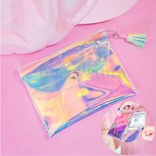 Women Clutch Laser Bag Transparent Evening Purse Wallet Holographic Handbag New