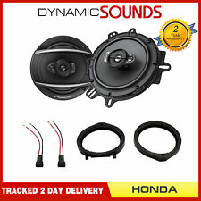 "Pioneer 6.5"" Front Door Coaxial Speakers Upgrade Kit for Honda Civic FN1 / FN2"