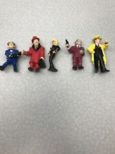 Vintage 1990 Dick Tracy Pvc Action Figures Lot of 5 Applause Disney Kg G2