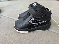 Nike Black High Top Shoes Toddler Size 4C Basketball Athletic Shoes 599189