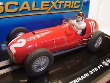 Scalextric Ferrari 375 F1 #12  C2803 für Autorennbahn 1:32 Slotcar