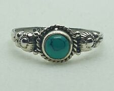 Brand New Sterling Silver 925 Turquoise Ring Size N