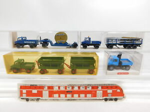 CG429-0, 5 #4x wiking H0 / 1:87 Unimog: 392+404+502/ 1 Siemens + 647, Mint +Box