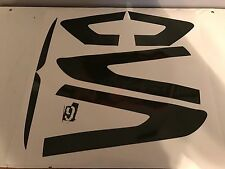 13-16 Fusion Tail light & reflectors tint cover vinyl overlay smoked w/CUTOUT