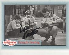 """DON KNOTTS HAND SIGNED 1990 PACIFIC """"ANDY GRIFFITH SHOW"""" #245 - BARNEY FIFE"""