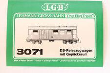 LGB 3071 DB-Reisezugwagen mit Gepäckraum