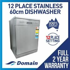 NEW DISHWASHER ELECTRIC AUTOMATIC 60CM STAINLESS STEEL