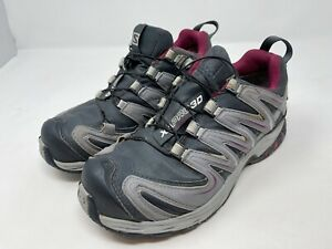 Salomon XA Pro 3D Trail Running Walking Hiking Shoes Womens UK Size 4