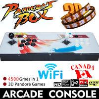 2021 New!Pandora Box 20s WIFI 3D 2 In 1 Retro Video Games Home Arcade Console HD
