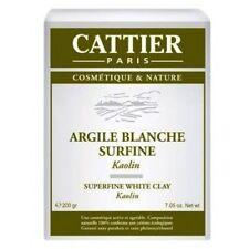 ARCILLA BLANCA SUPERFINA CATTIER PARIS 200 gr ARGILE BLANCHE SURFINE