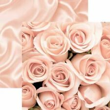 Roses and Satin - A Night to Remember - 12X12 Scrapbook Papers 5 Sheets