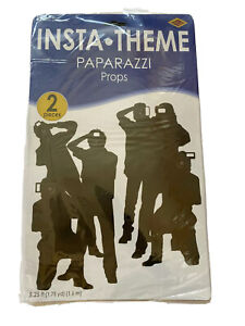 New Paparazzi Props 2 Pack Red Carpet Awards VIP Party Decorations Hollywood