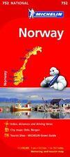 Norway (Michelin National Maps) NUEVO Brossura Libro