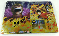 Playstation 3 PS3  BOITE VIDE PAS DE JEU Steelbook One Piece Pirate Warriors 3