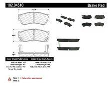 Disc Brake Pad Set-4 Door Front Centric 102.04510