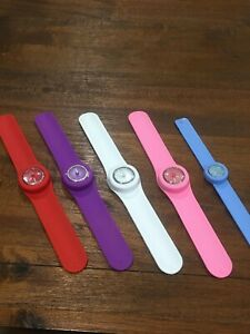 Milano Rubber Snap Band Watch
