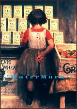 Cream Of Wheat Girl 1911 Girl By The Window Vintage Poster Print Retro art