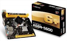BIOSTAR A68N-5600 AMD A10-4655 Motherboard Mini ITX Onboard CPU Japan NEW