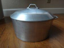 Vintage Super Maid Supreme Cast Aluminum Cookware #257 Dutch Oven