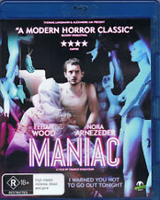 MANIAC  Blu Ray Limited Edition With T-shirt  + Special Features **BRAND NEW**