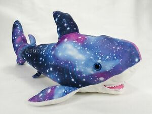 BLUE SHARK-Fiesta Plush Stuffed Animal Universe Galaxy Space Stars Astronomy Fin