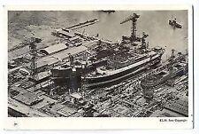 S 27 - Krimpen aan den IJssel, Luftaufnahme Werft, waterlating ms Jiwang, gelauf