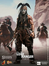 "Sideshow Hot Toys 1/6 Scale 12"" The Lone Ranger Tonto Action Figure 902083"