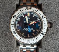 Deep Blue DayNight Mil Ops-T-100 Tritium Automatic 500M Dive Watch - Mint