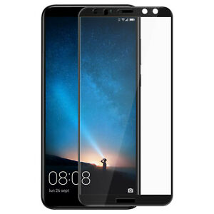 Screen protector for Huawei Mate 10 Lite, Tempered Glass with black edges
