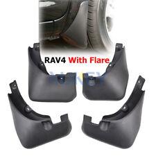 With Fender Flare Set Mud Flaps For Toyota RAV4 2007-2012 Splash Mud Guards US